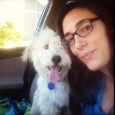 dog walker Kaysa