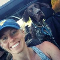 dog walker Kaitlynn