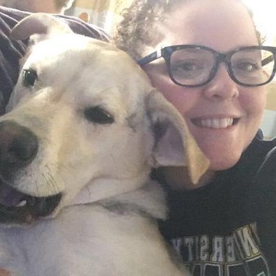 dog walker Carlye