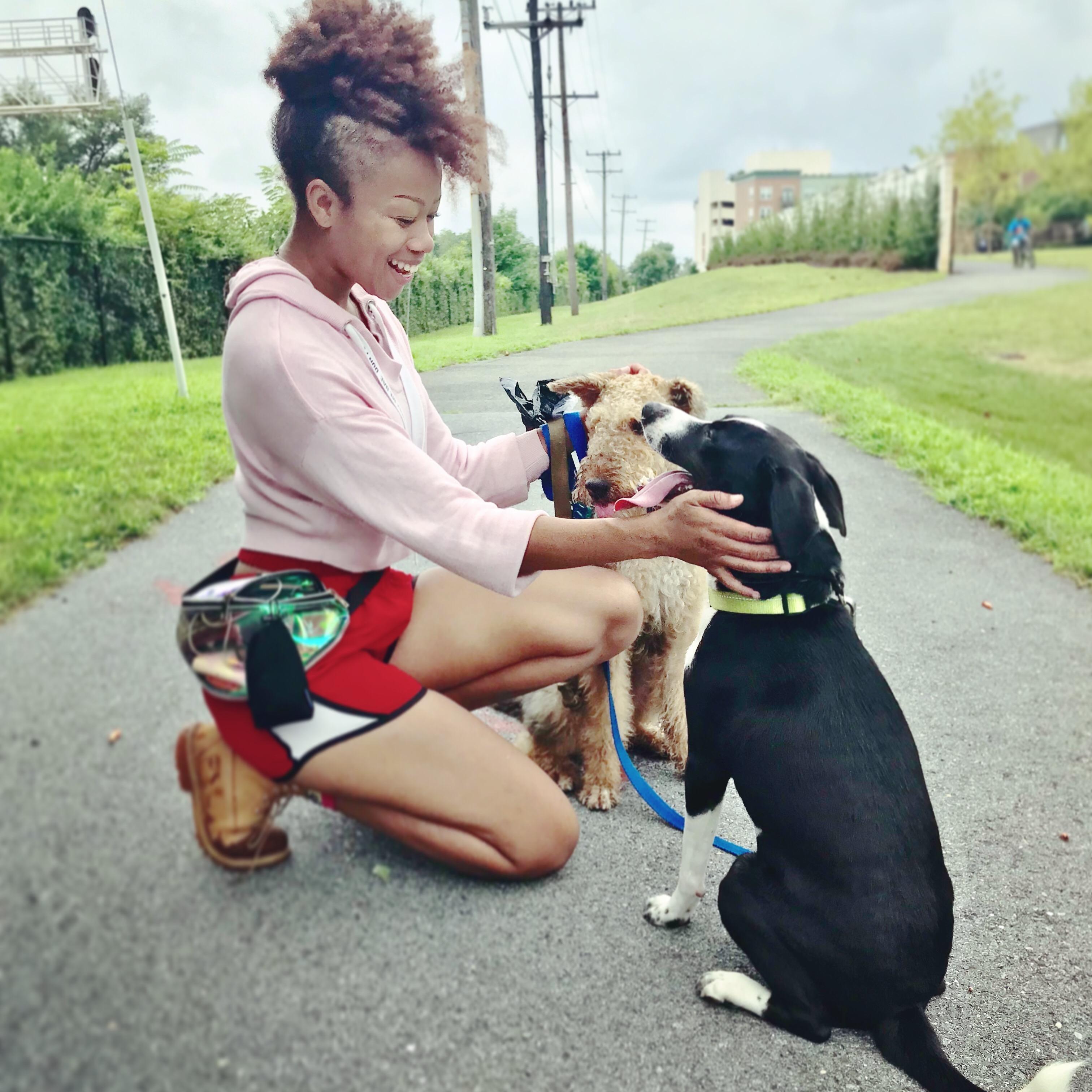 dog walker Bridgette