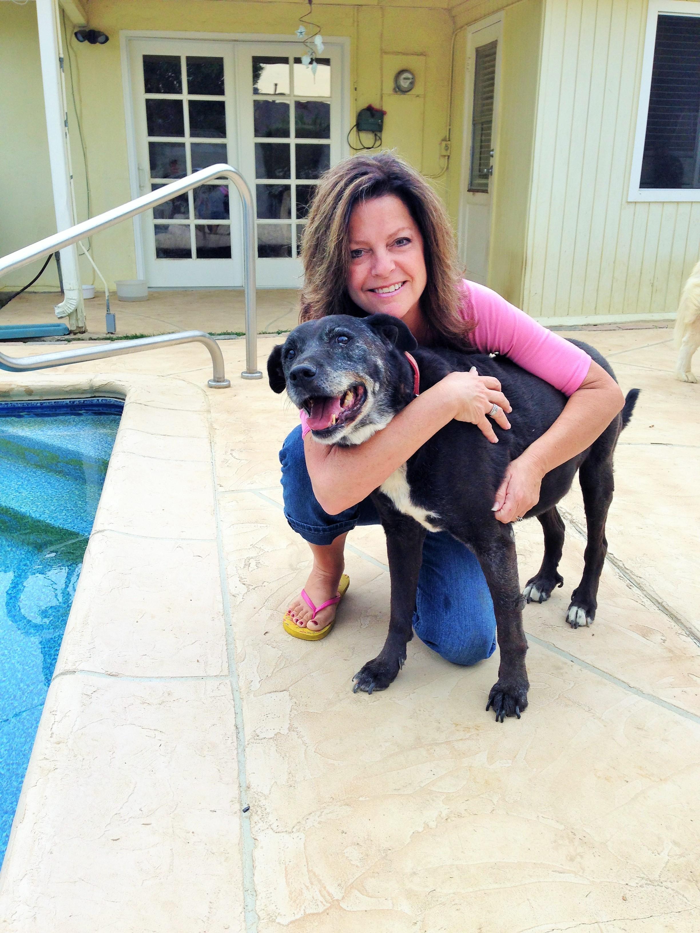 dog walker Stacy