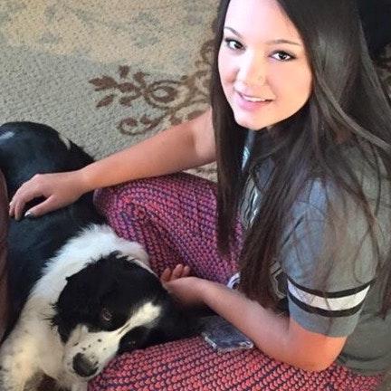 dog walker Cora