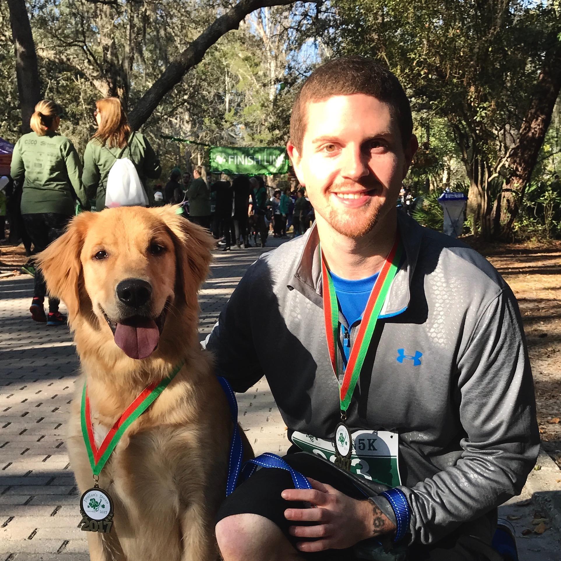 dog walker Stephen