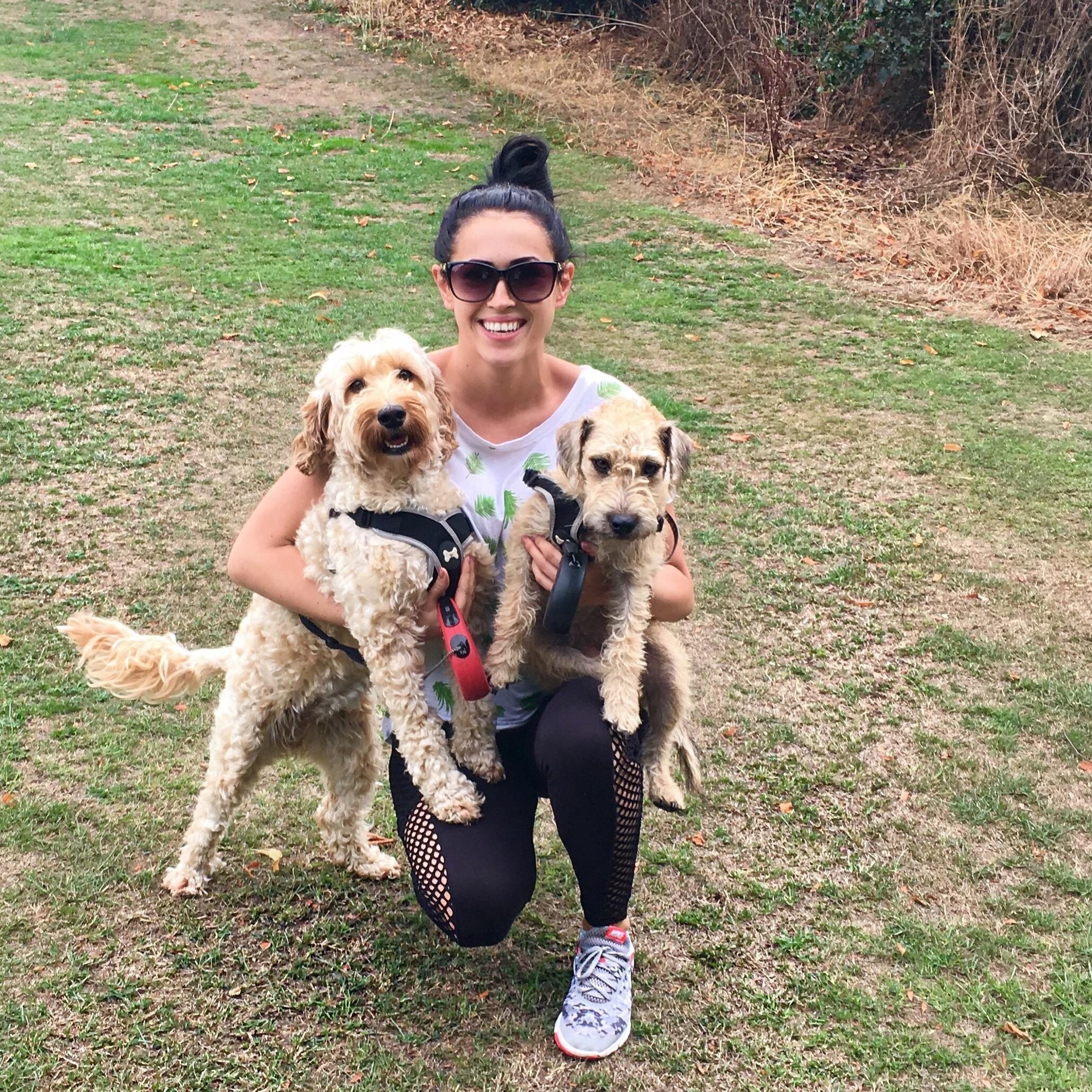 dog walker Ewelina