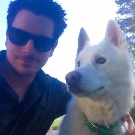 dog walker Scotty