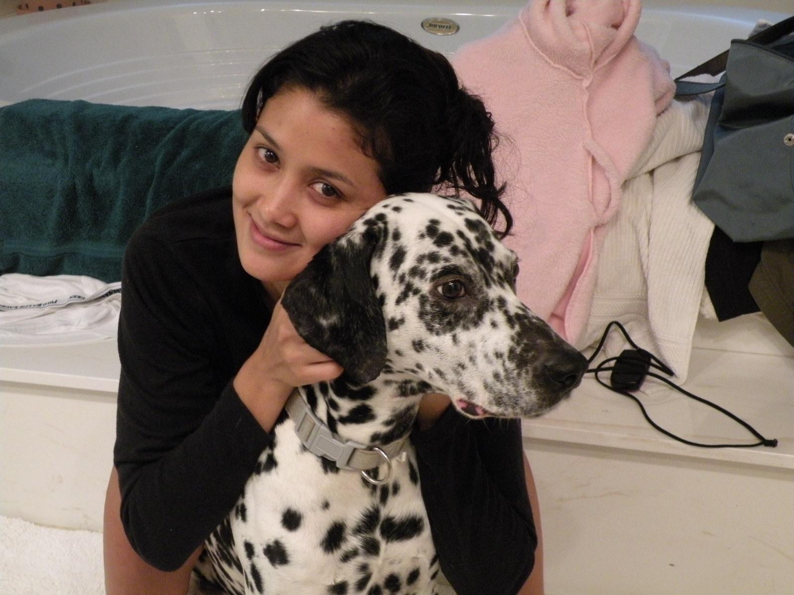 dog walker Ivette