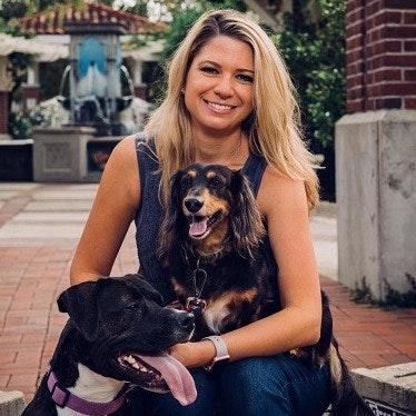 dog walker Tiffany