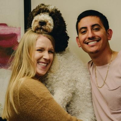 Kalista H. & Camilo's dog boarding