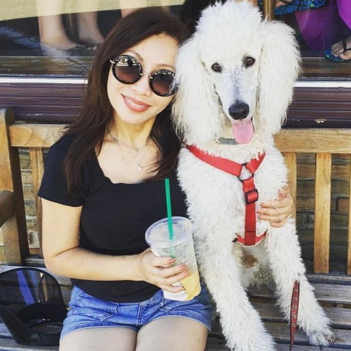 dog walker Winnie
