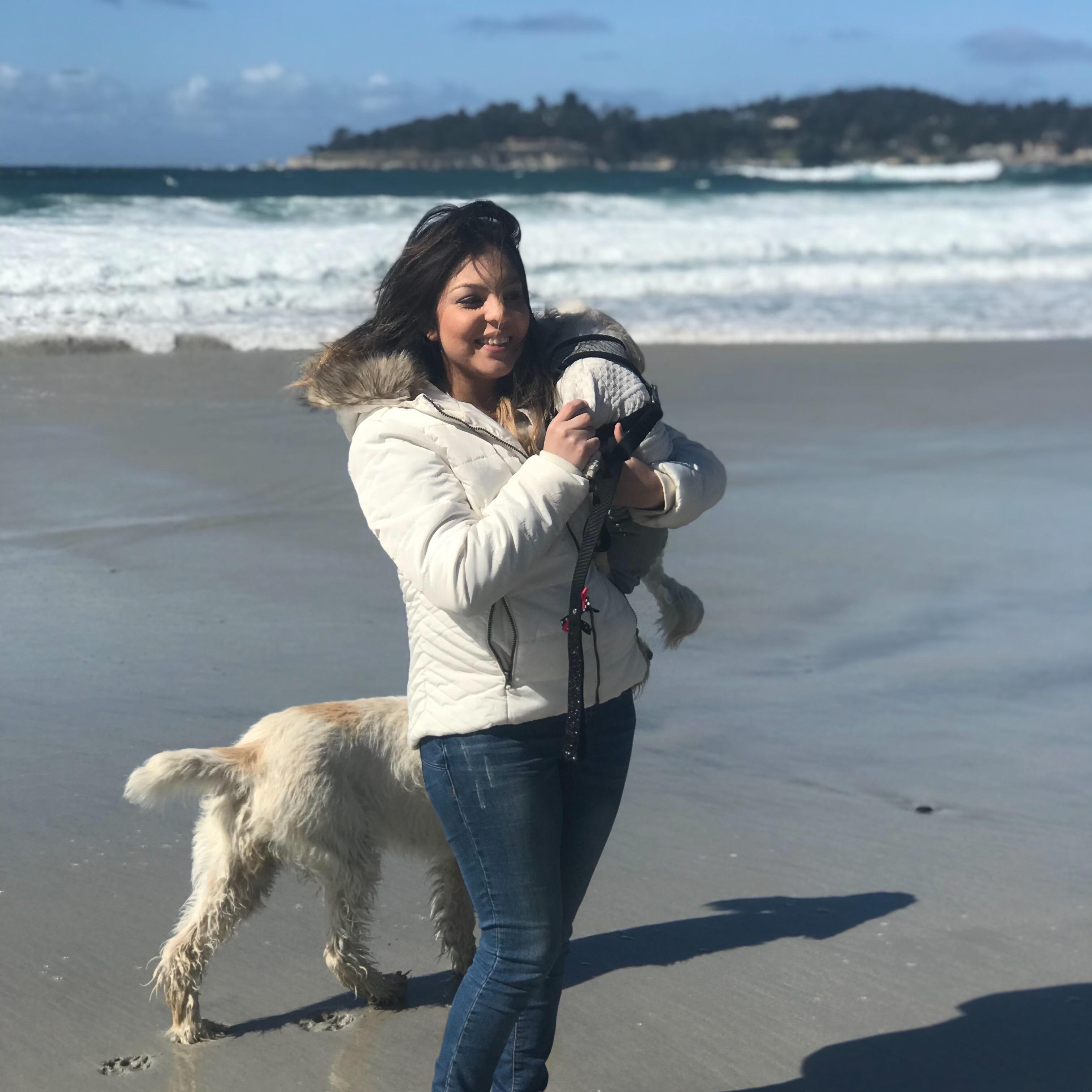 dog walker Jackie