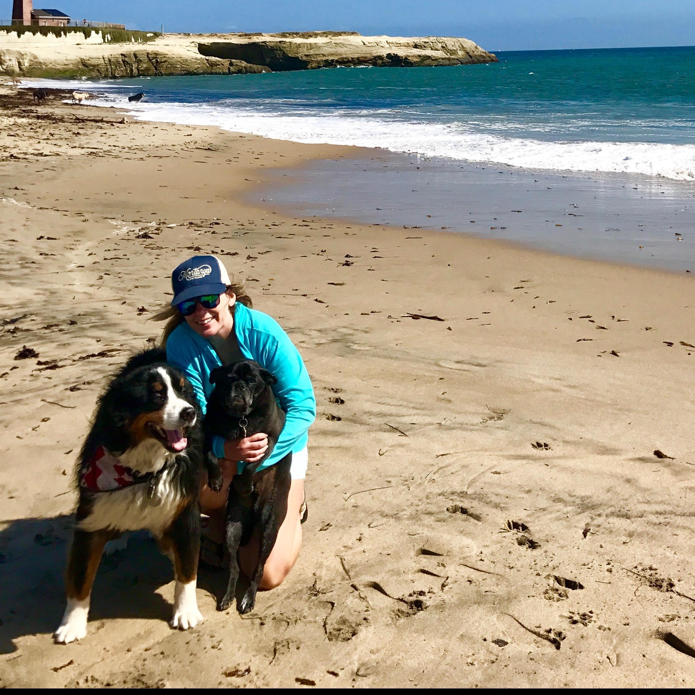 dog walker Tanya
