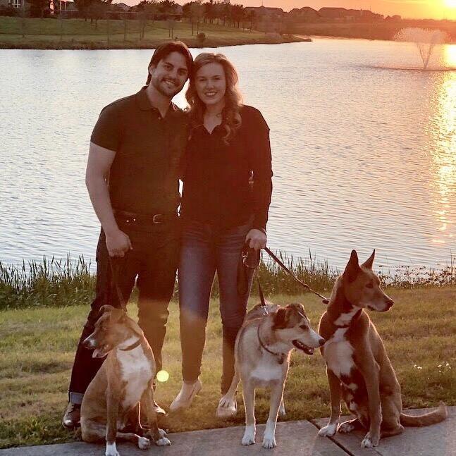 dog walker Julia & Adam