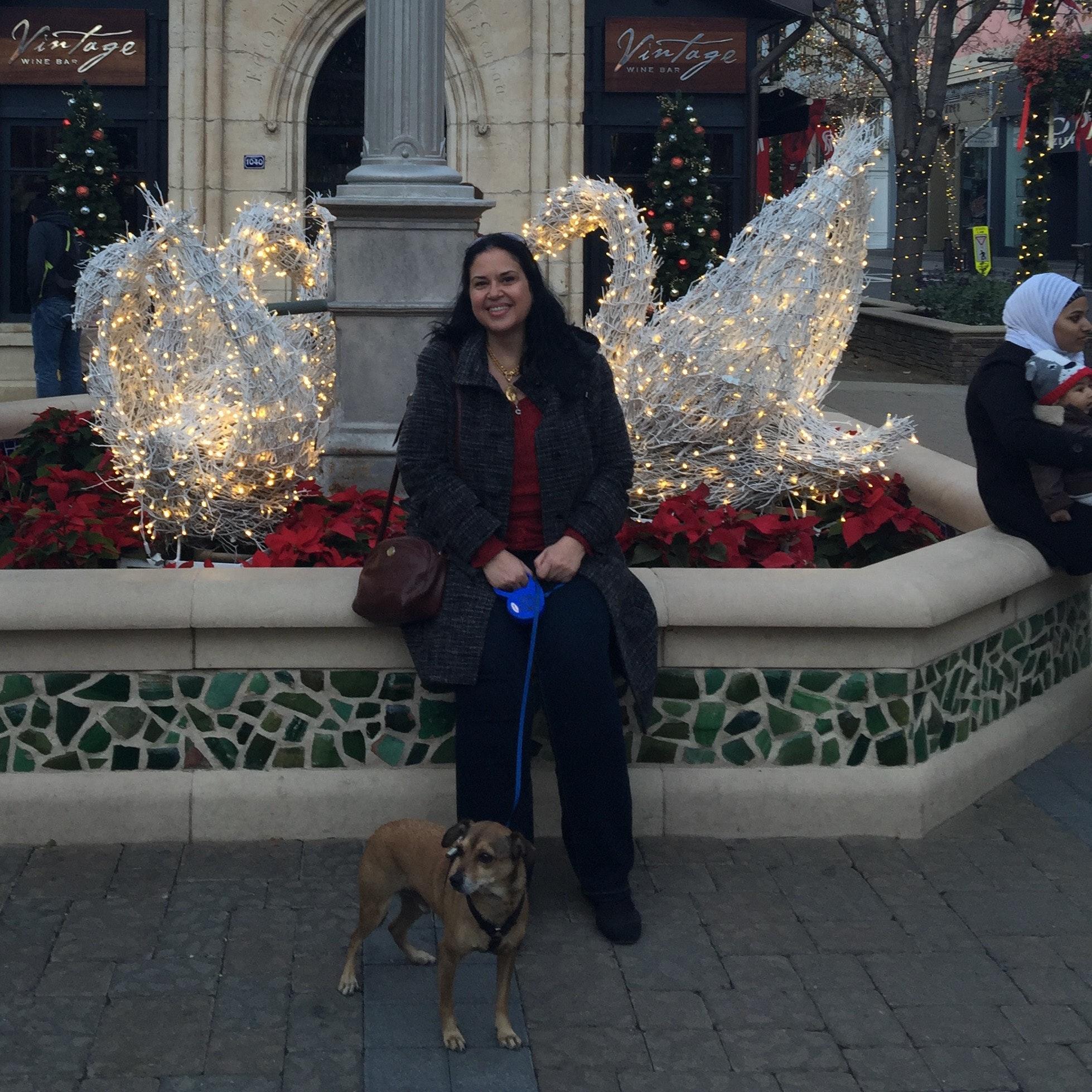 dog walker Lina