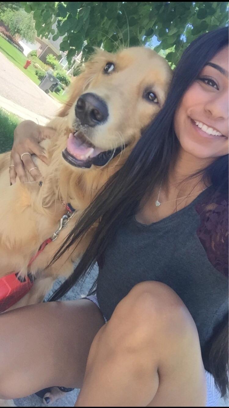 Sanjana's dog boarding