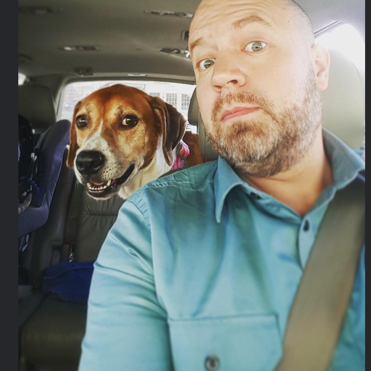 dog walker Dennis