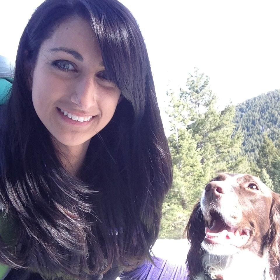 dog walker Arian