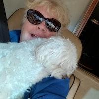 dog walker Peggy