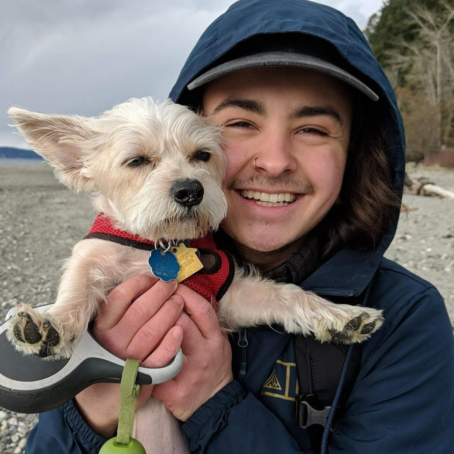 dog walker Alexzander
