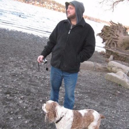 dog walker Benjamin