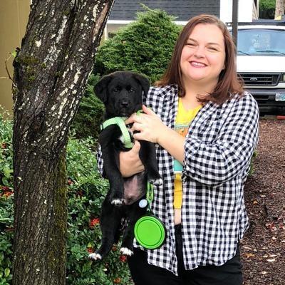 dog walker Christie