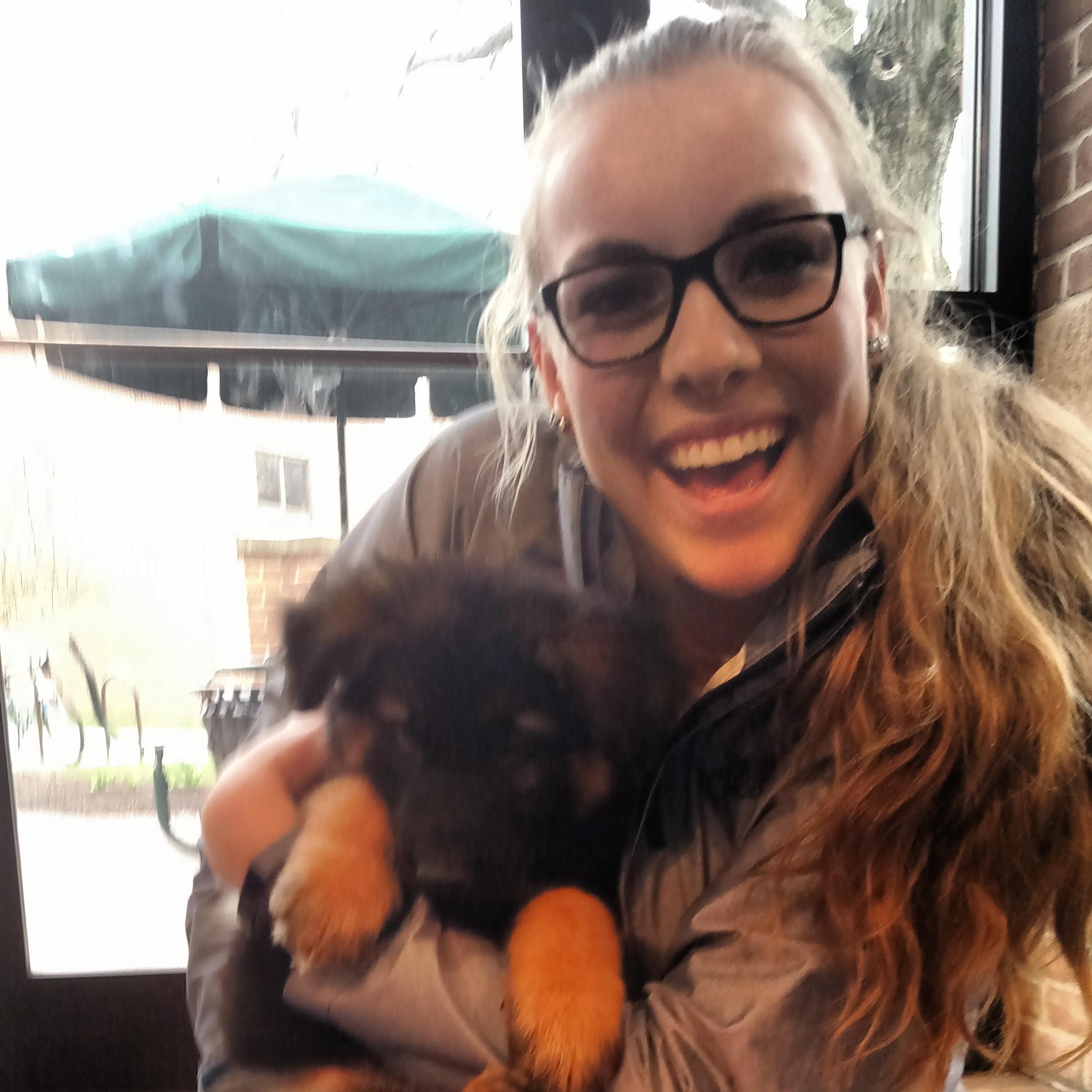dog walker Abigail