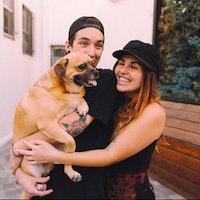 Brooke & Nicholas's dog boarding