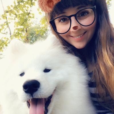 dog walker Kristina