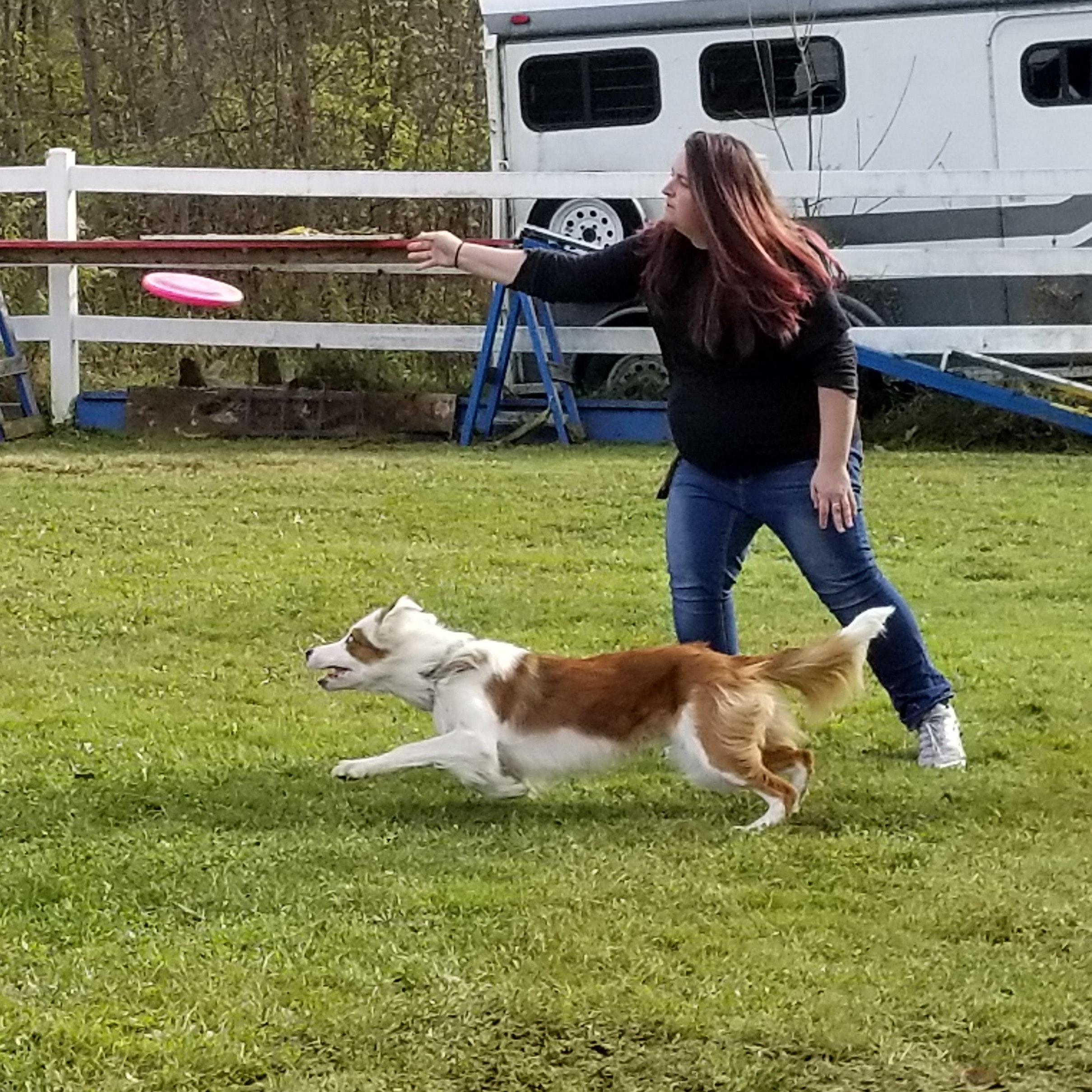 dog walker Maggie