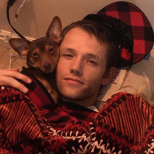 dog walker Jeremy