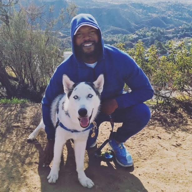 dog walker Laron