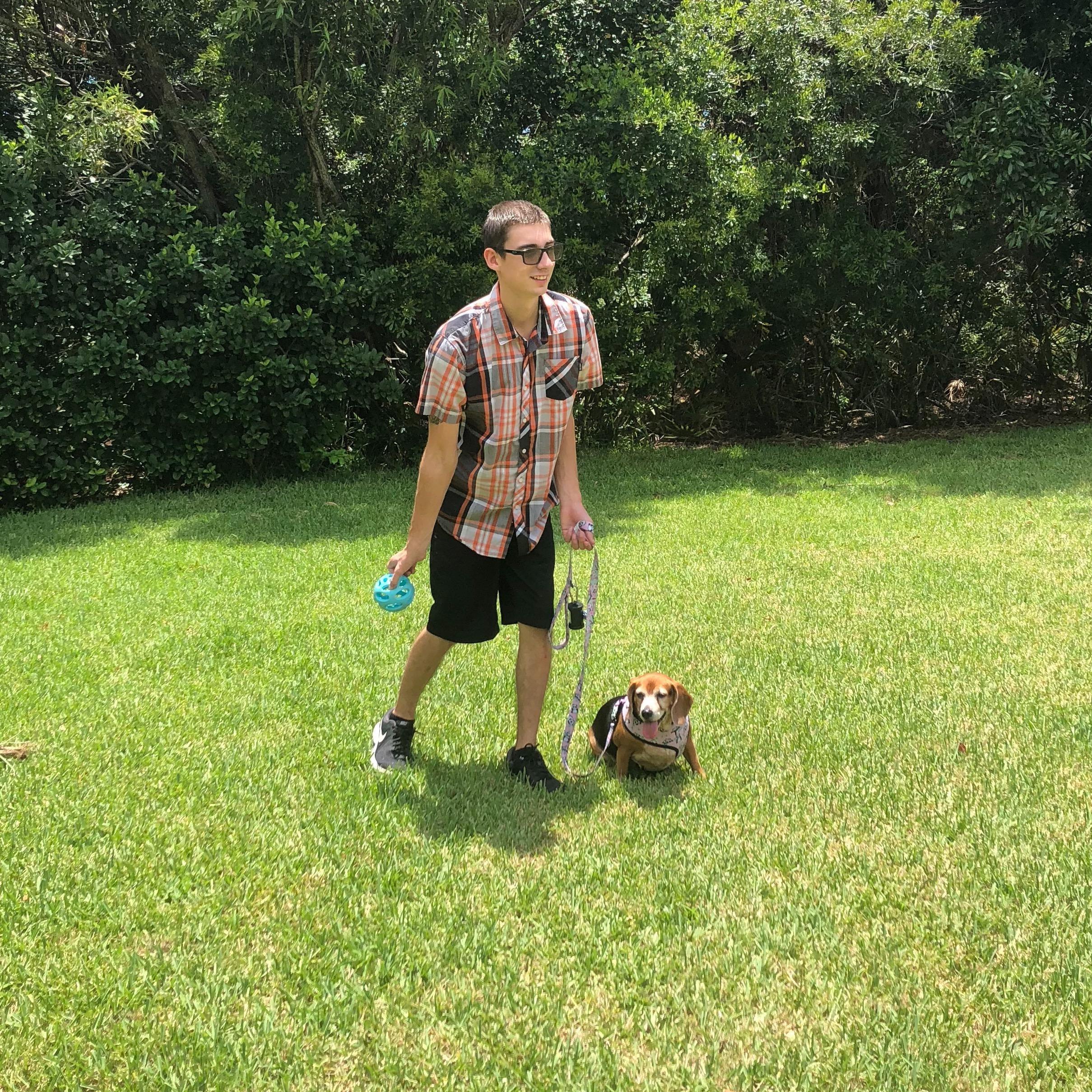 dog walker Skyler