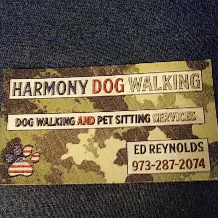 dog walker Ed