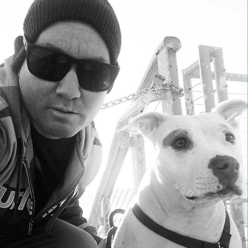 dog walker Ben