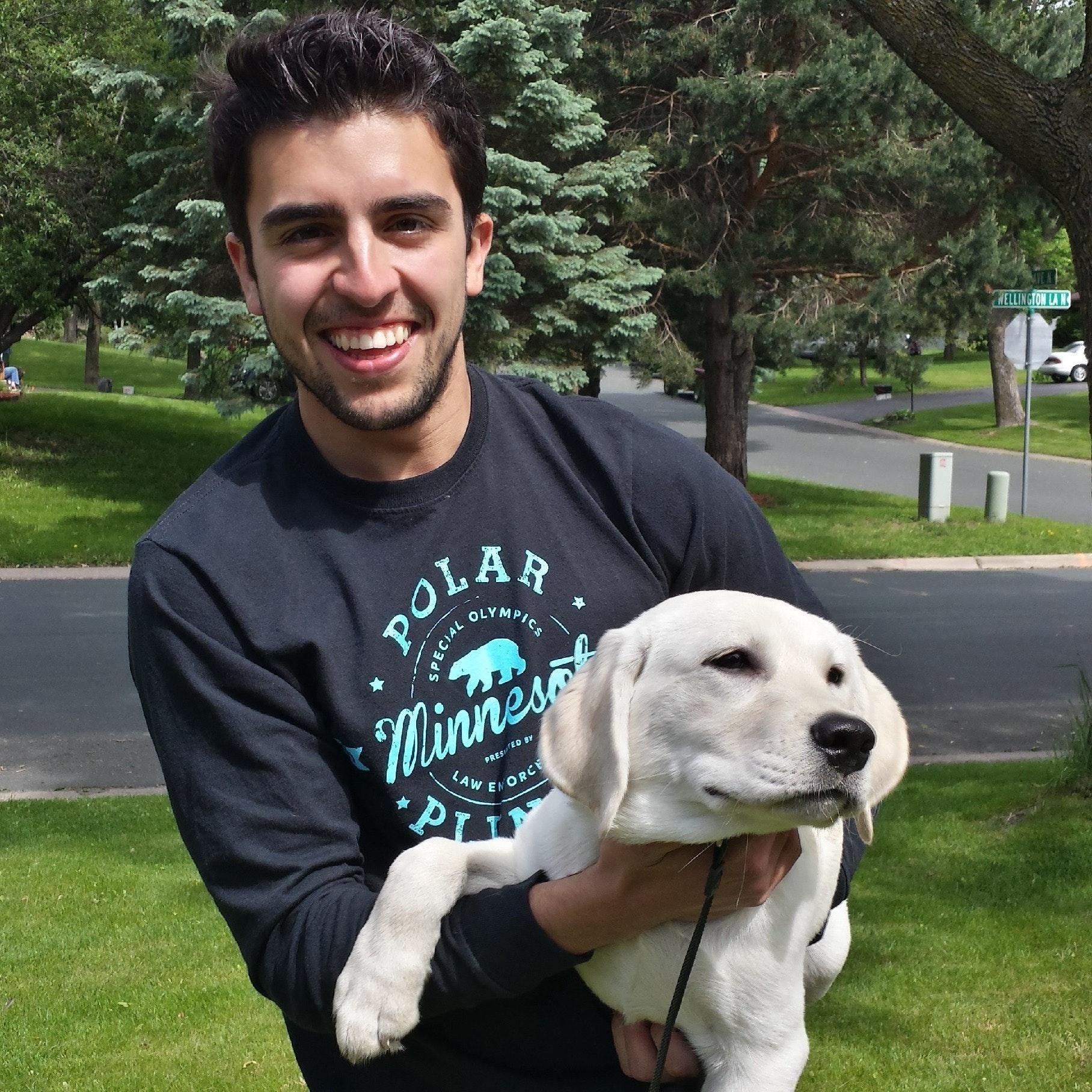 Luis's dog boarding