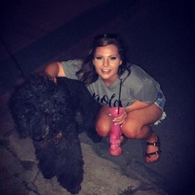 dog walker Brandi