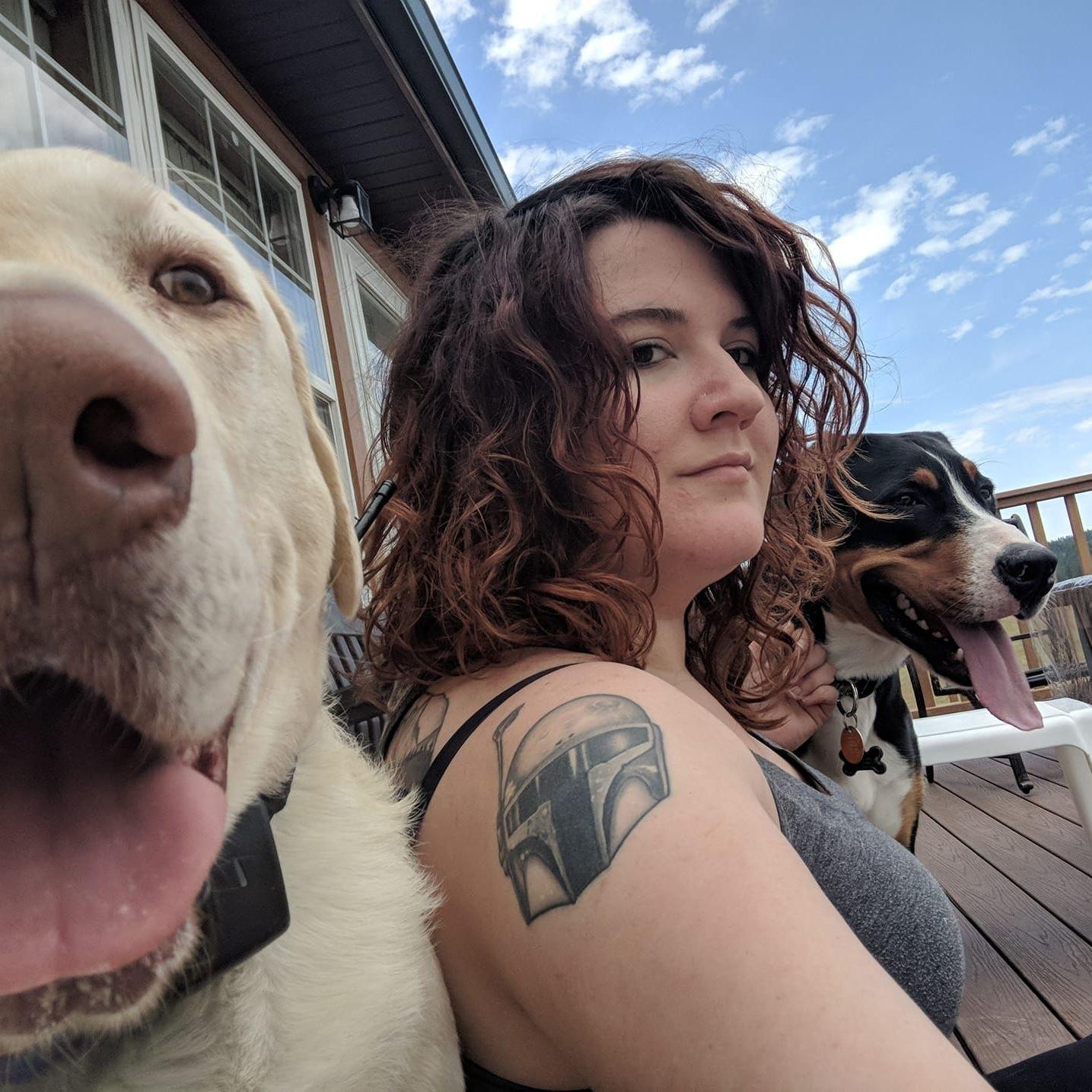 dog walker Haley Jaye