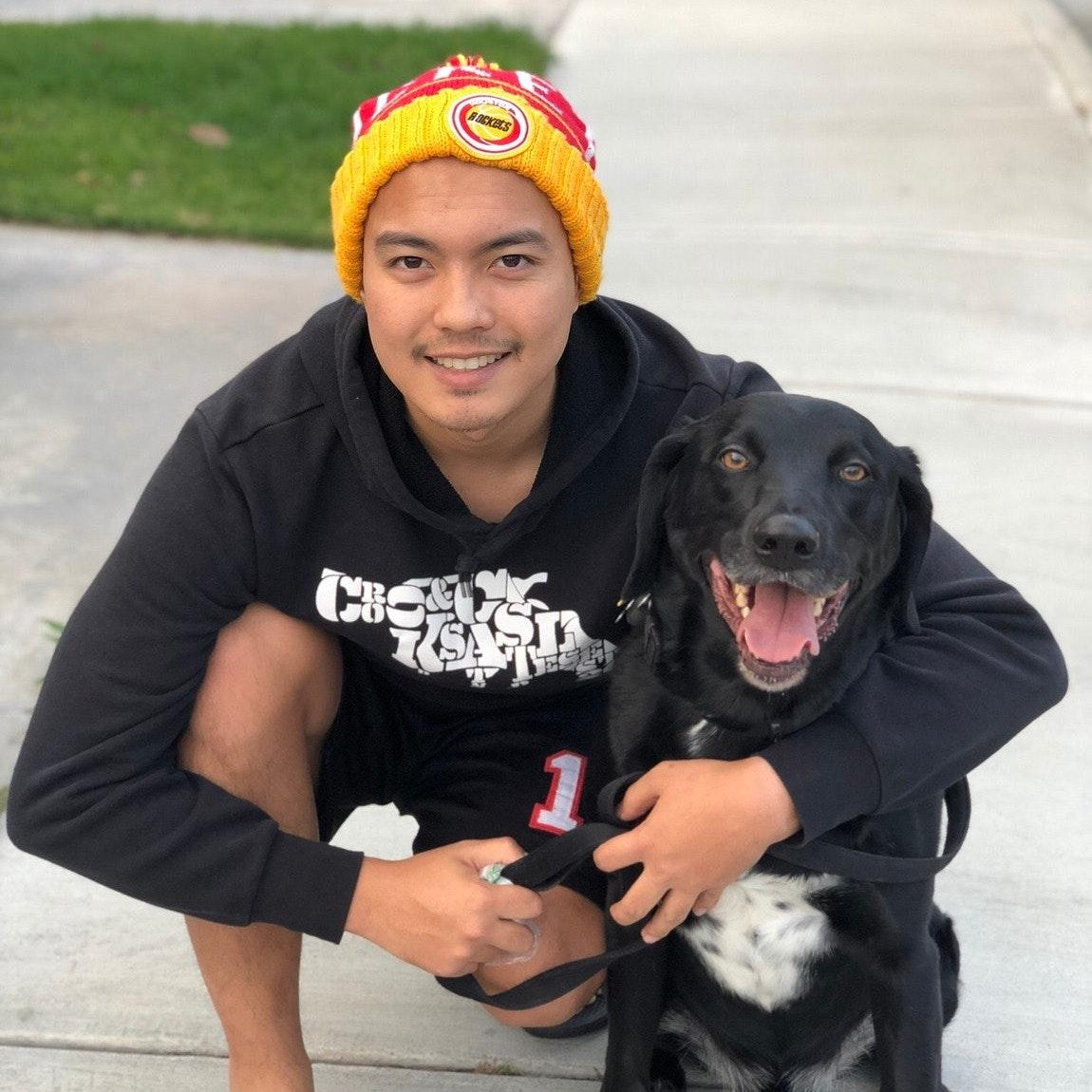 dog walker Theodore