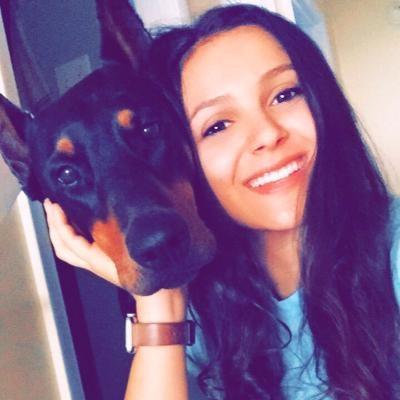 dog walker Ashley