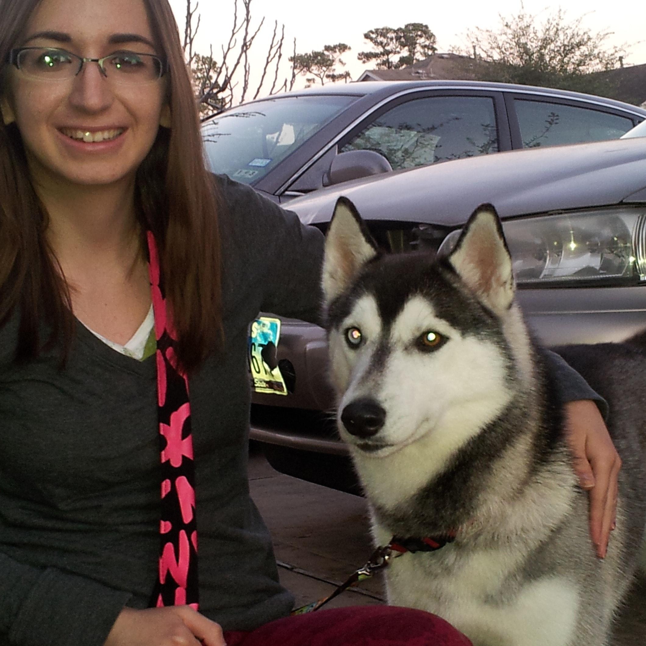 dog walker Flavia