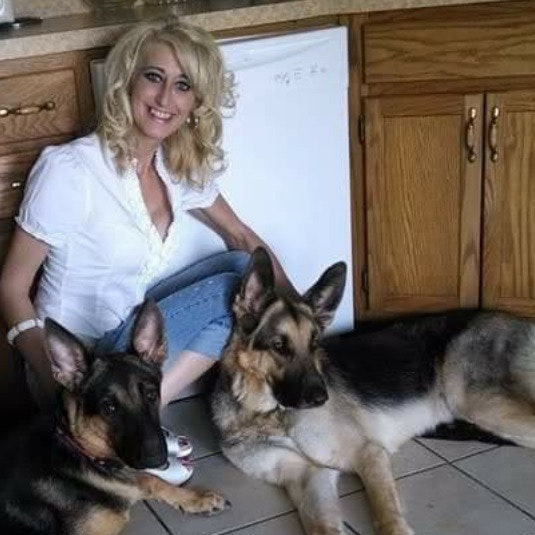 dog walker Tabby