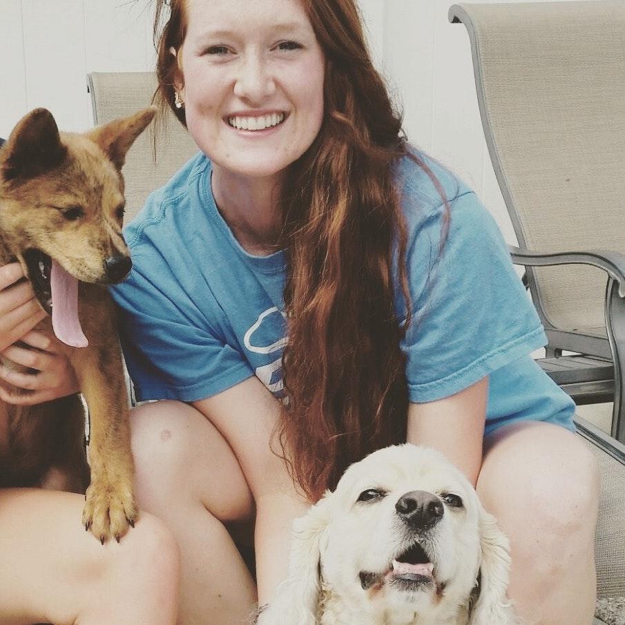dog walker Hannah