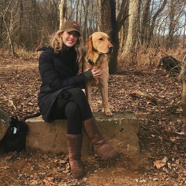 dog walker Essie