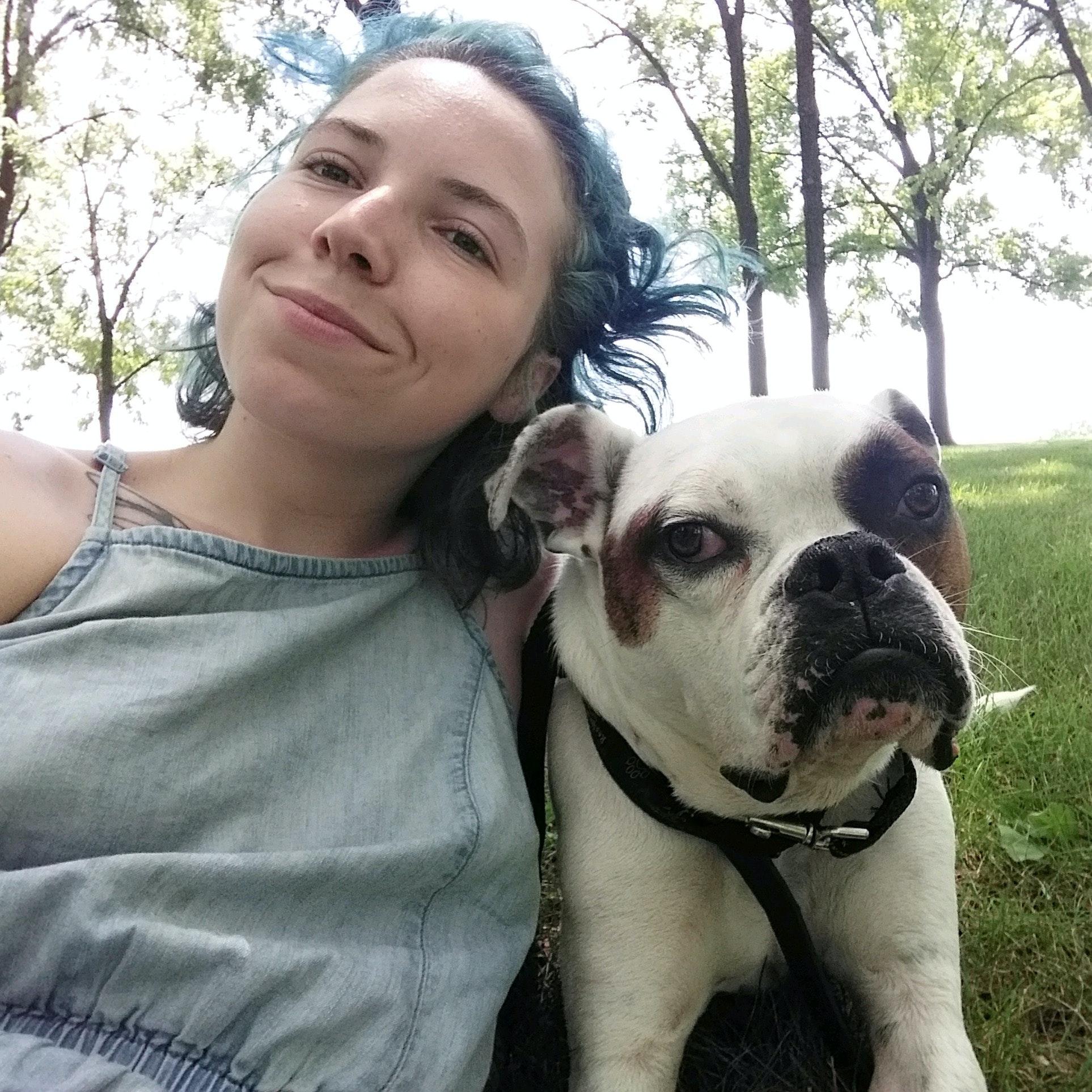 dog walker Olivia
