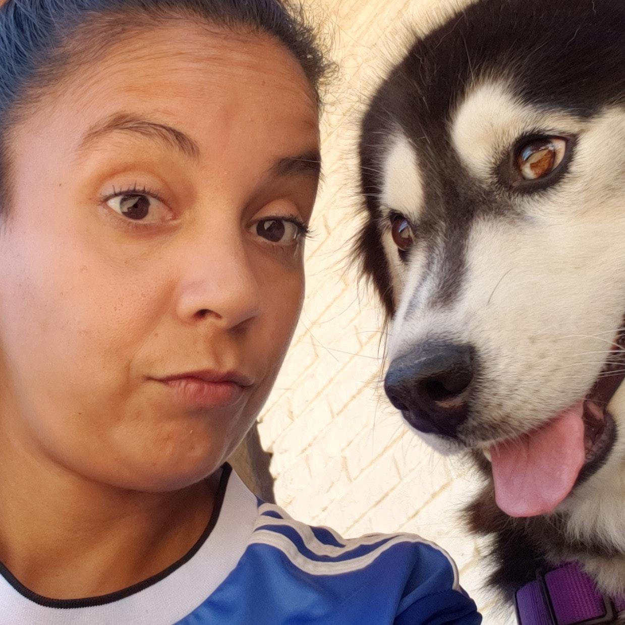 dog walker Marisol