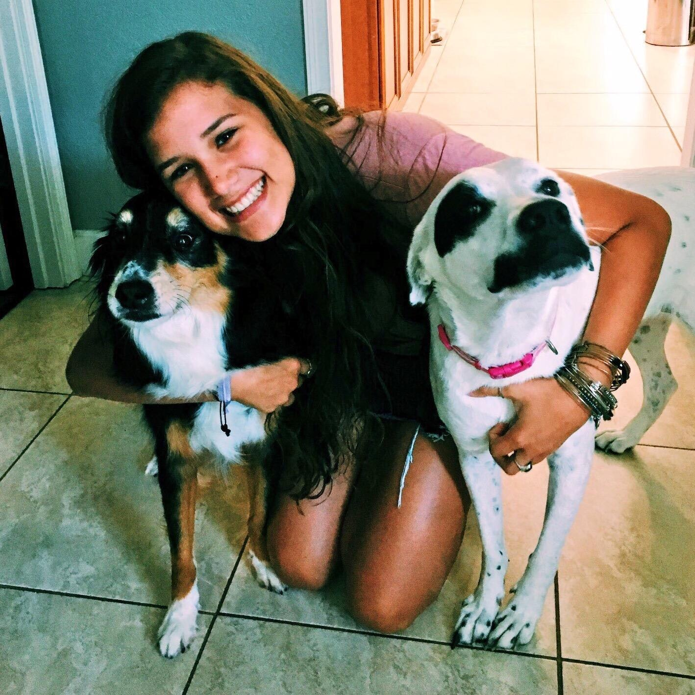 Adriana's dog boarding