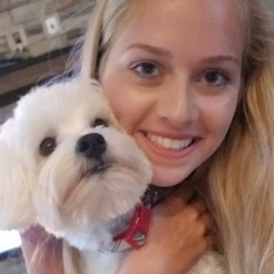dog walker Haley-Anne