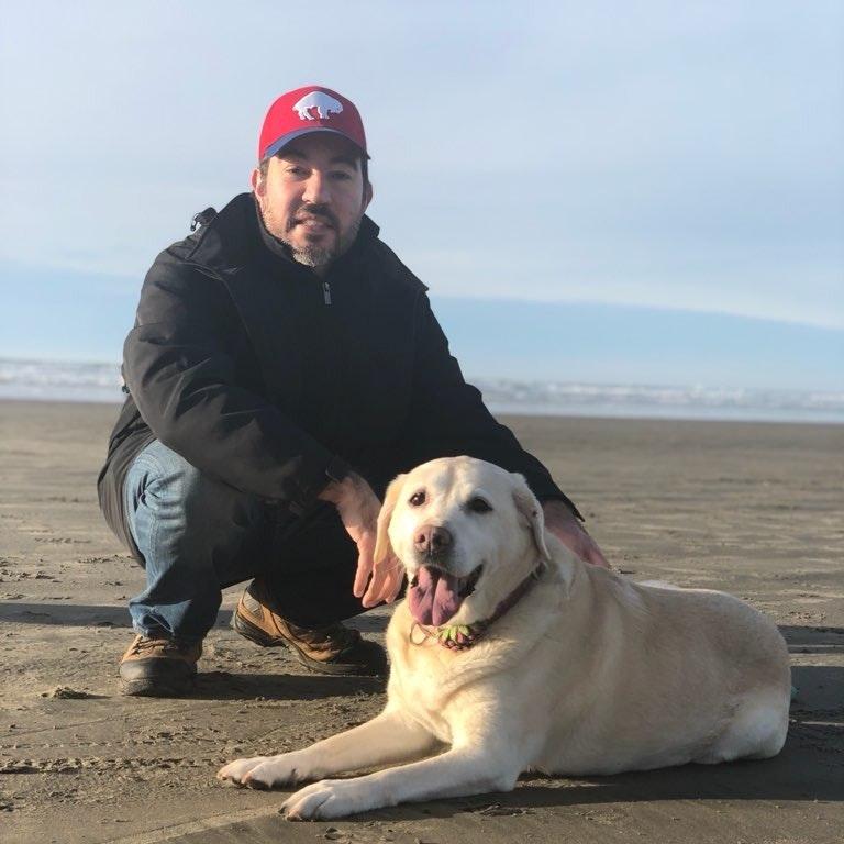dog walker Dave