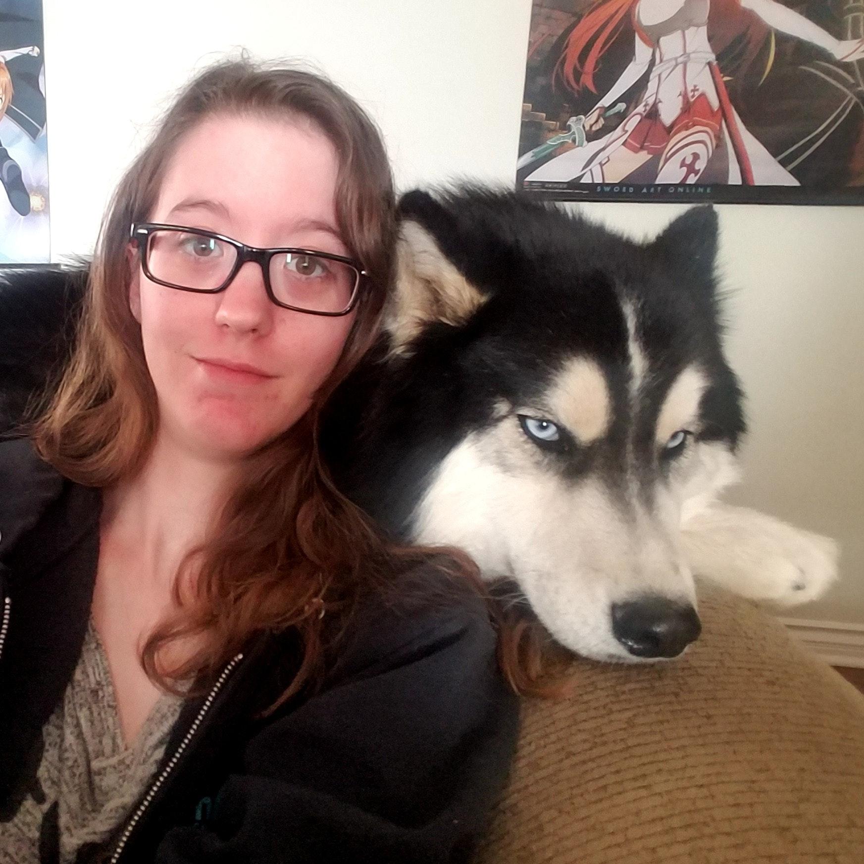 dog walker Kaila