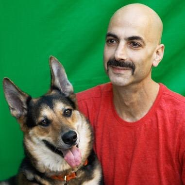 dog walker Danny