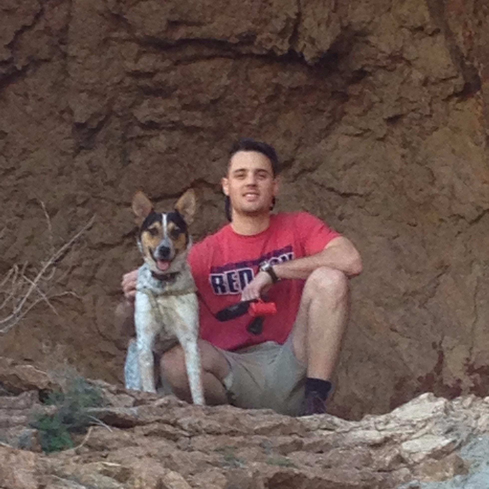 dog walker Joe